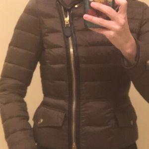 Burberry jacket .